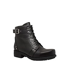 "Ride Tec Women's 7"" Lug Sole Biker Boot"