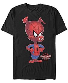 Men's Spider-Man Into The Spiderverse The Fierce Spider-Ham Short Sleeve T-Shirt