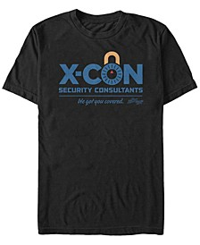 Men's Ant-Man and the Wasp X-Con Security Consultants Logo Short Sleeve T-Shirt
