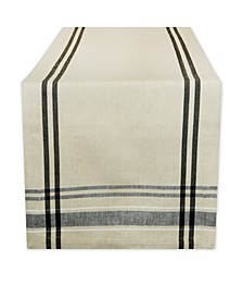 """Chambray French Stripe Table Runner 14"""" x 108"""""""