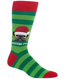 Men's Bah Humpug Socks
