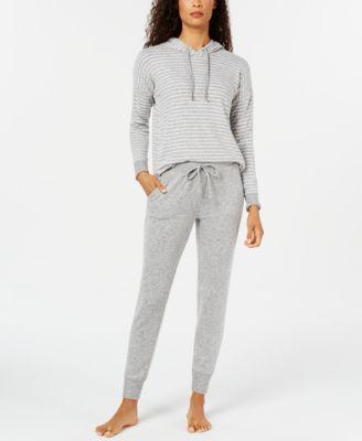 Cozy Knit Long Sleeve Sleep Top, Created For Macy's