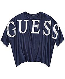 GUESS Big Girls Batwing-Sleeve Logo T-Shirt