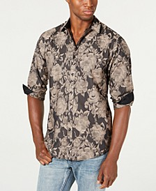 INC Men's Floral Shirt, Created for Macy's