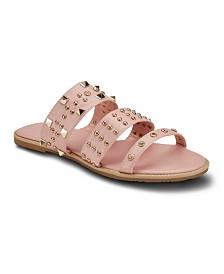 Olivia Miller Fast Forward Studded Sandals