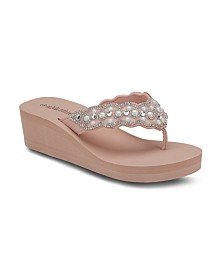 Olivia Miller Best Life Wedge Sandals
