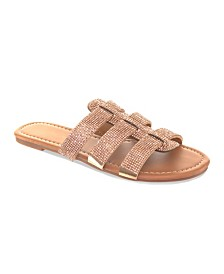Olivia Miller First Love Embellished Sandals