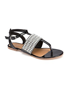 Hallandale Embellished Sandals