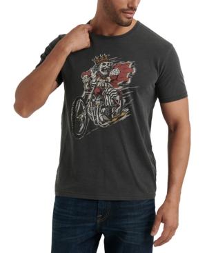 Lucky Brand Men's King Skull Graphic T-Shirt In Black Mountain