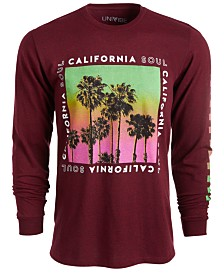 Univibe Men's California Soul Graphic T-Shirt