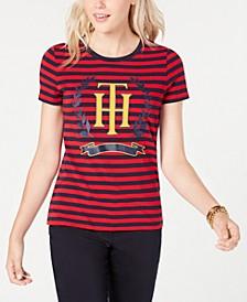 Striped Crest Top