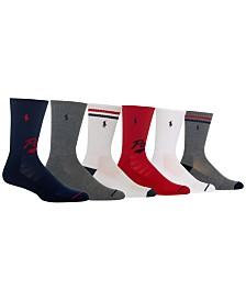Polo Ralph Lauren Men's 3-Pk. Crew Socks