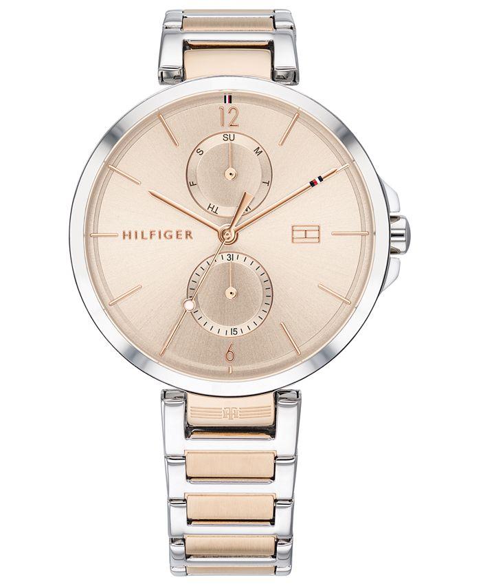 Tommy Hilfiger - Women's Two-Tone Stainless Steel Bracelet Watch 36mm