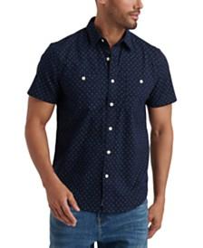 Lucky Brand Men's Micro Print Shirt