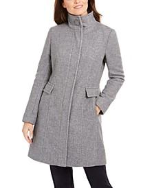 Stand-Collar Walker Coat, Created for Macys