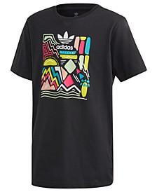 Big Girls Printed Cotton T-Shirt