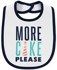 Baby Boys Cotton Birthday Bib