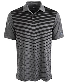 Men's Ombré Chevron Jacquard Polo