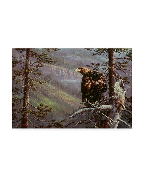 "Trademark Global R W Hedge Private Eye Canvas Art - 27"" x 33.5"""