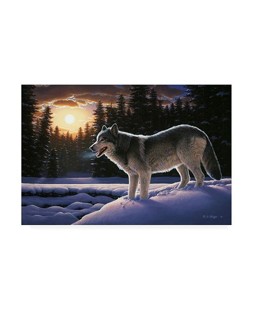 "Trademark Global R W Hedge New Trail Canvas Art - 15.5"" x 21"""