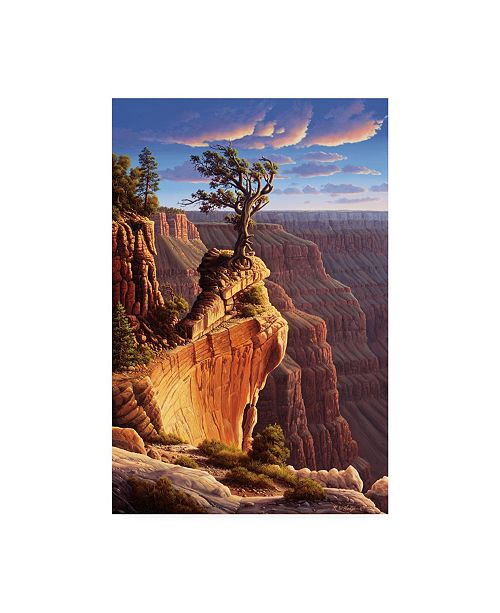 "Trademark Global R W Hedge Old Master Canyon Canvas Art - 19.5"" x 26"""