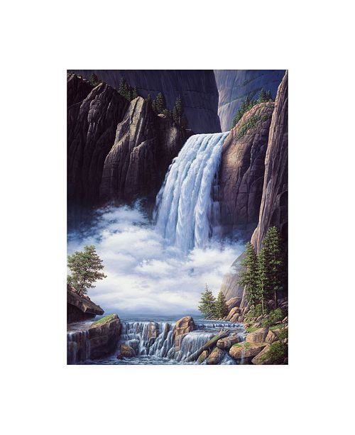 """Trademark Global R W Hedge Heavenly Place Canvas Art - 19.5"""" x 26"""""""