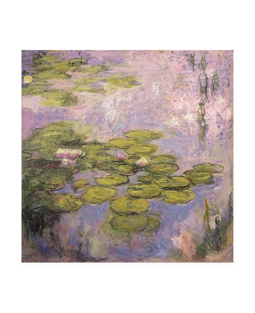 """Trademark Global Claude Monet Nympheas Canvas Art - 15.5"""" x 21"""""""