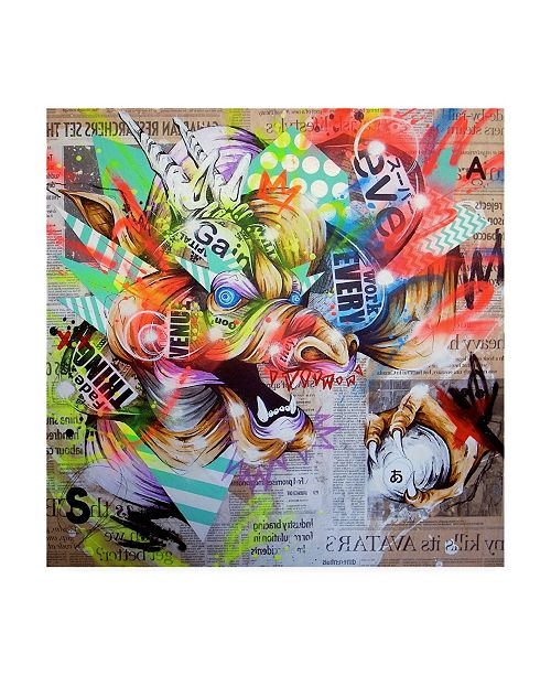 "Trademark Global Taka Sudo Seiryu Canvas Art - 19.5"" x 26"""