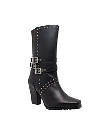 """AdTec RideTec Women's 12"""" Heeled Buckle Boot"""