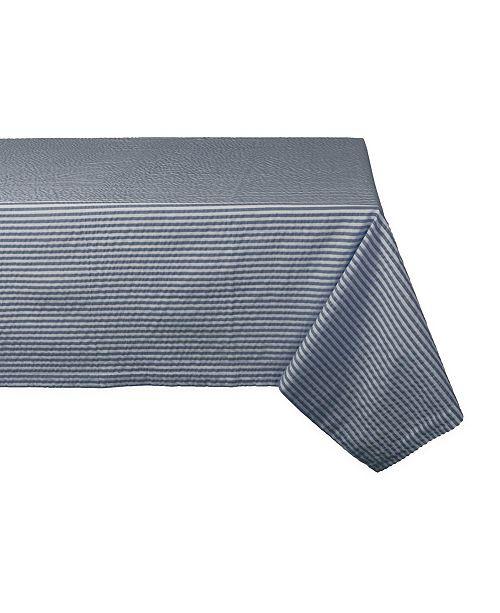 """Design Import Seersucker Tablecloth 60"""" x 84"""""""