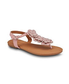 Olivia Miller Love at First Sight Floral Sandals
