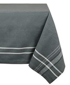 "French Chambray Tablecloth 60"" x 104"""