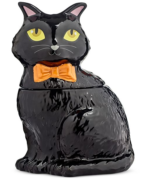 Martha Stewart Collection Cat Cookie Jar, Created for Macy's