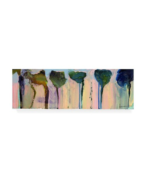 """Trademark Global Pat Saunders-White Bending to the Wind Canvas Art - 15.5"""" x 21"""""""