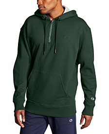 Men's Powerblend Fleece Quarter-Zip Hoodie