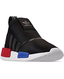 Little Boys NMD 360 Slip-on Casual Athletic Sneakers from Finish Line