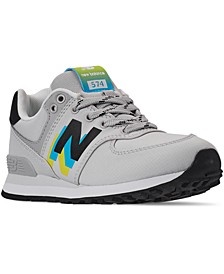 Big Boys 574 Casual Sneakers from Finish Line