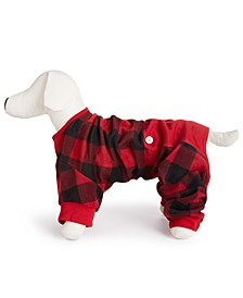 Matching Buffalo-Check Pet Pajamas, Created for Macy's