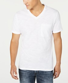 I.N.C. Men's V-Neck Pocket T-Shirt, Created for Macy's