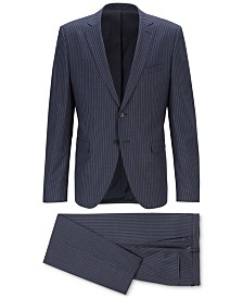 BOSS Men's Extra-Slim-Fit Pinstripe Suit