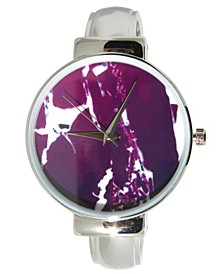 Women's Marble Design Bracelet Watch 38mm