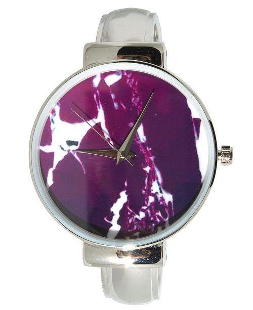 Preston Women's Marble Design Bracelet Watch 38mm