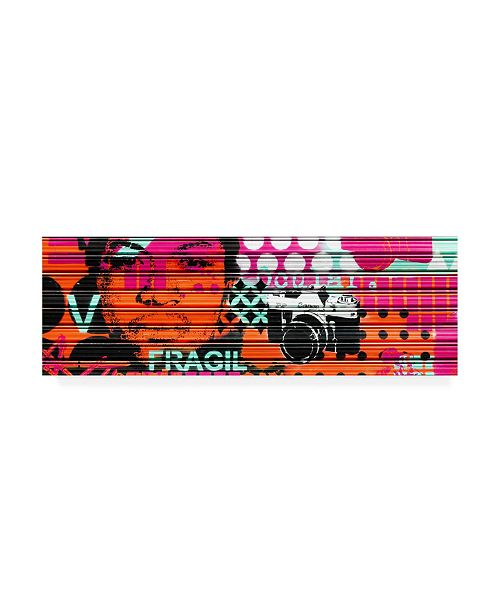 "Trademark Global Philippe Hugonnard Made in Spain 2 Colourful Blind Art II Canvas Art - 27"" x 33.5"""