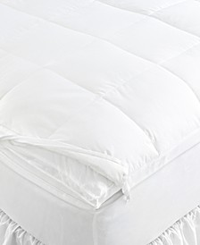 Gold 500 Thread Count Downtop Full Featherbed