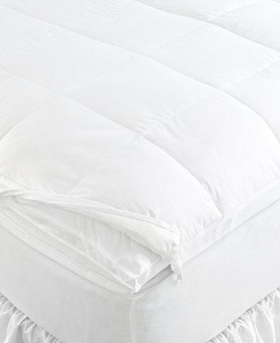 ralph lauren mattress pad Lauren Ralph Lauren Gold 500 Thread Count Downtop Twin Featherbed  ralph lauren mattress pad