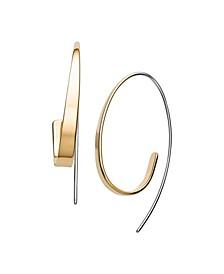 Women's Kariana Stainless Steel Curl Earrings