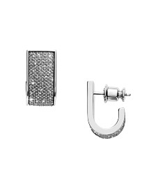 Skagen Women's Merete Stainless Steel Brilliant Mesh Earrings