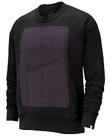 Nike Men's Court Fleece Reversible Tennis Sweatshirt