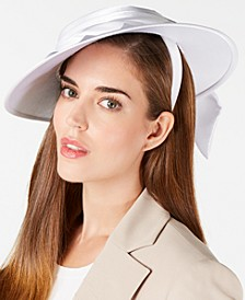 Draped Satin Hatinator
