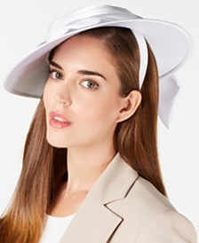 August Hats Draped Satin Hatinator